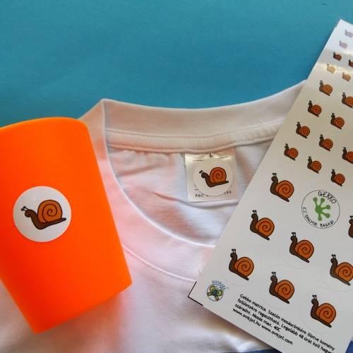 ef2edf9336 Gekko matricák - ruhában a mosáscímkére ragasztható
